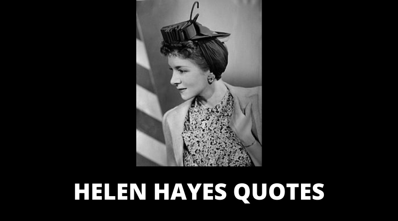 Helen Hayes quotes featured