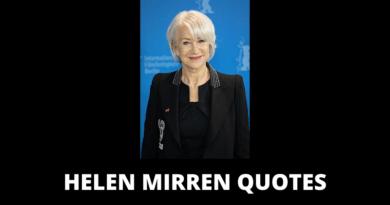 Helen Mirren quotes featured