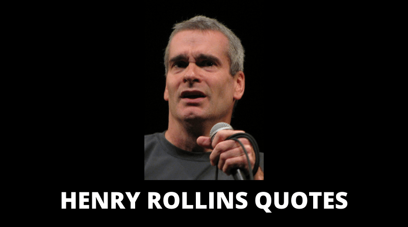 Henry Rollins Quotes featured
