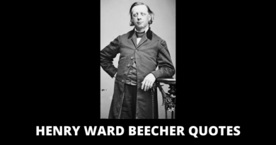Henry Ward Beecher Quotes featured