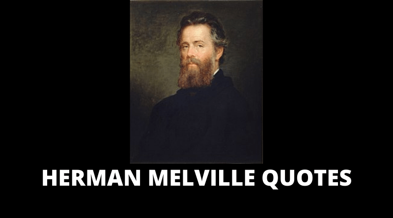 Herman Melville quotes featured