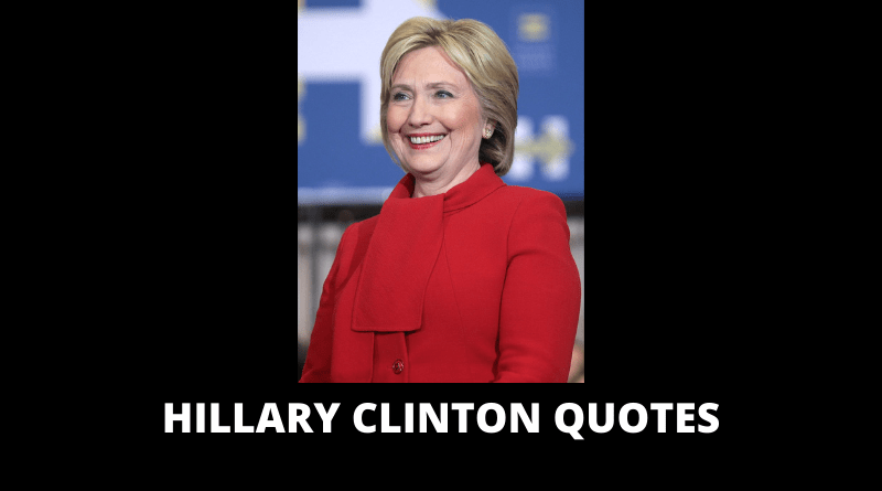 Hillary Clinton Quotes featured