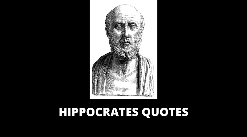 Hippocrates Quotes featured
