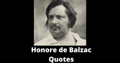 Honore de Balzac Quotes featured