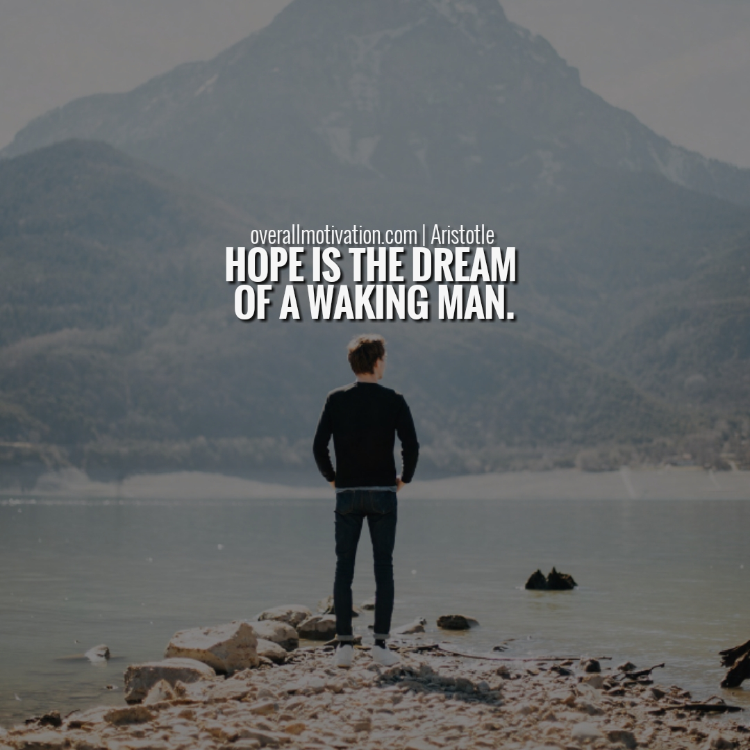 Hope quotes never