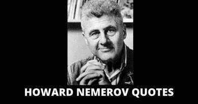 Inspirational Howard Nemerov Quotes