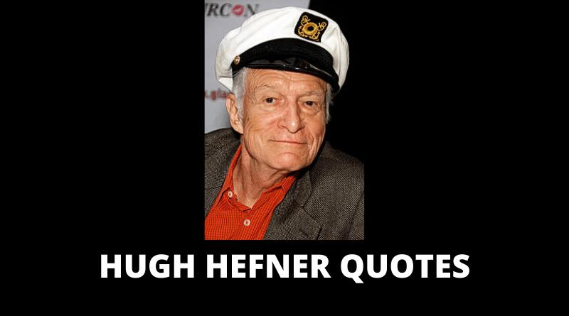 Hugh Hefner quotes featured