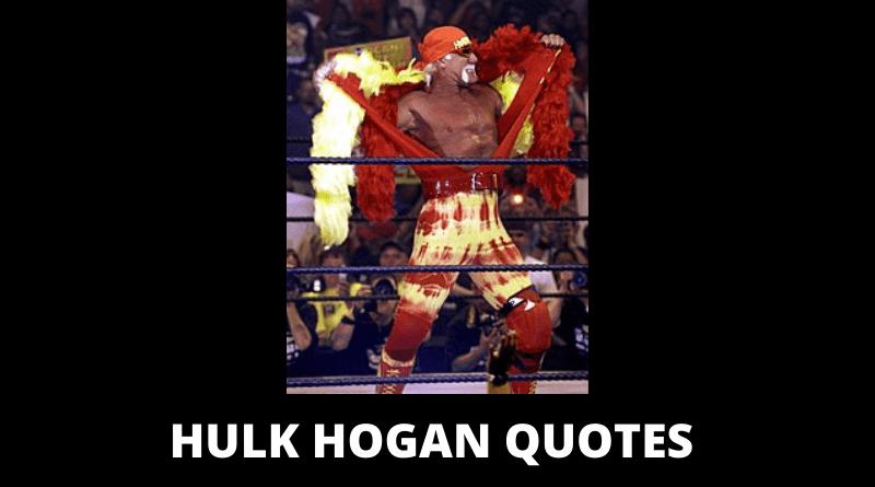 Hulk Hogan Quotes featured