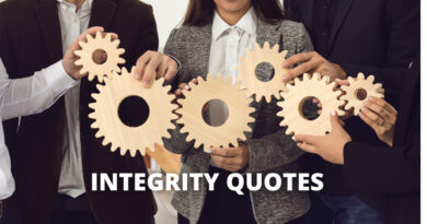 INTEGRITY QUOTES FEATURE