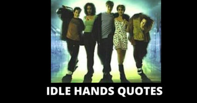 Idle Hands Quotes Featured