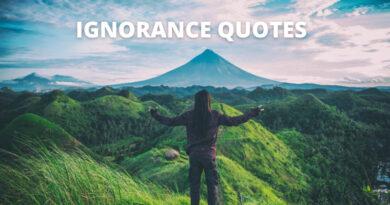 Ignorance Quotes Featured