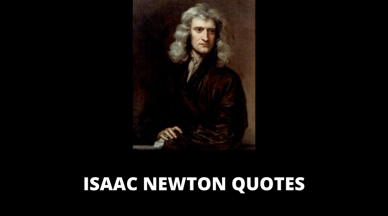 Isaac Newton Quotes featured