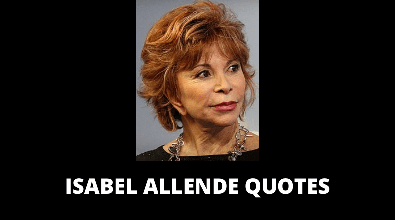 Isabel Allende Quotes featured