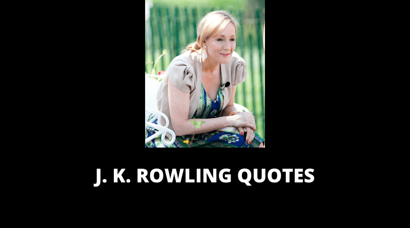 J K Rowling Quotes featured