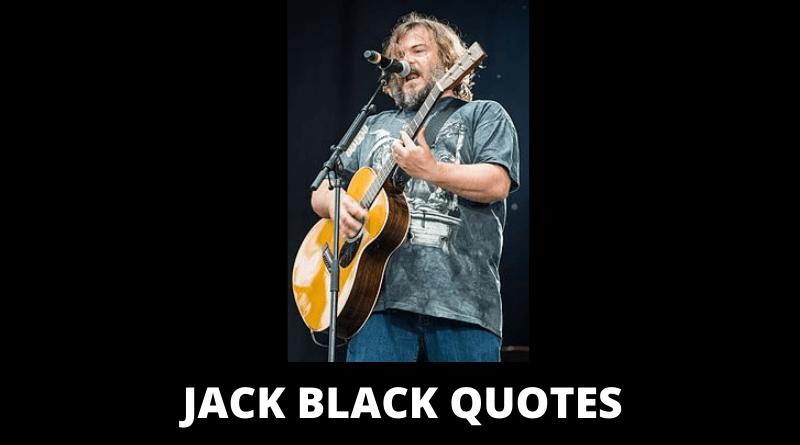 Jack Black Quotes featured