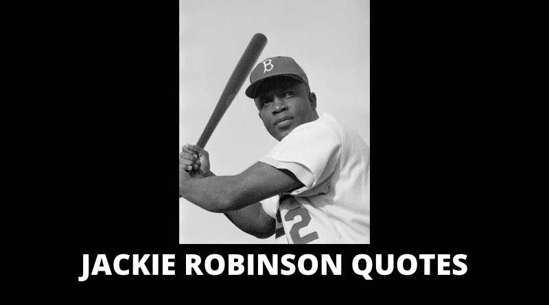 Motivational Jackie Robinson Quotes