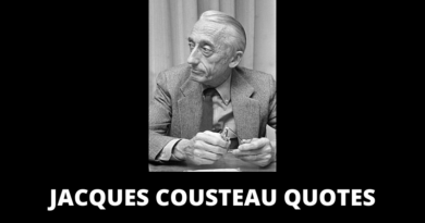 Jacques Yves Cousteau quotes featured