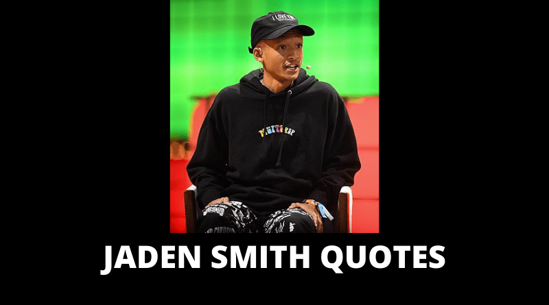 Jaden Smith Quotes featured
