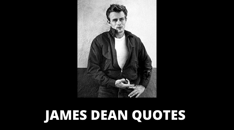 James Dean quotes featured