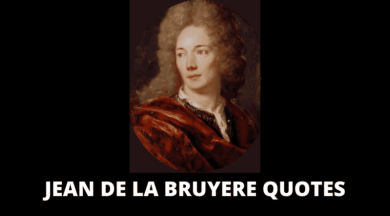 Motivational Jean De La Bruyere Quotes