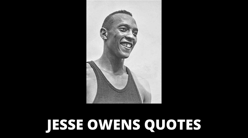 Jesse Owens quotes featured