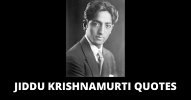 Jiddu Krishnamurti Quotes featured