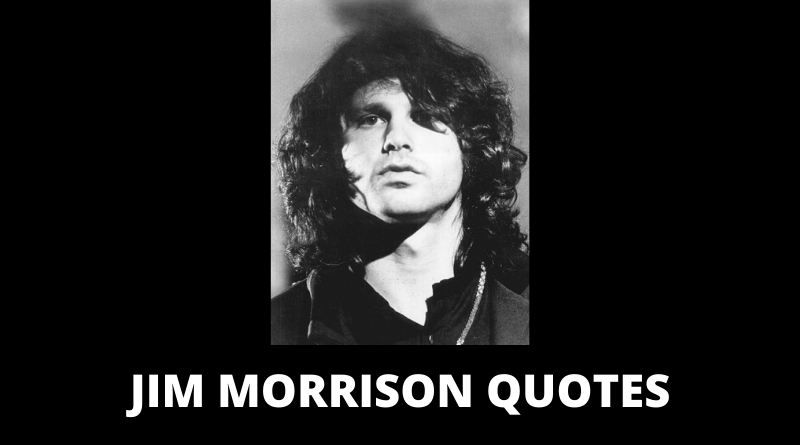 Jim Morrison Quotes featured