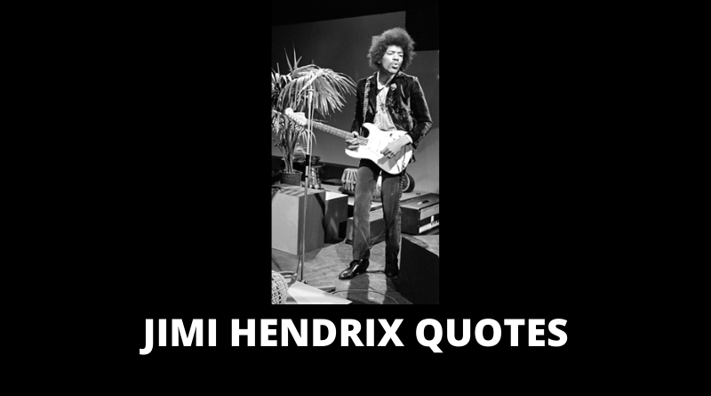 Jimi Hendrix quotes featured