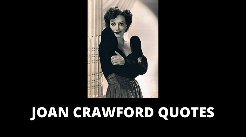 Joan crawford quotes featured