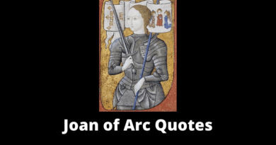 Joan of Arc Quotes featured