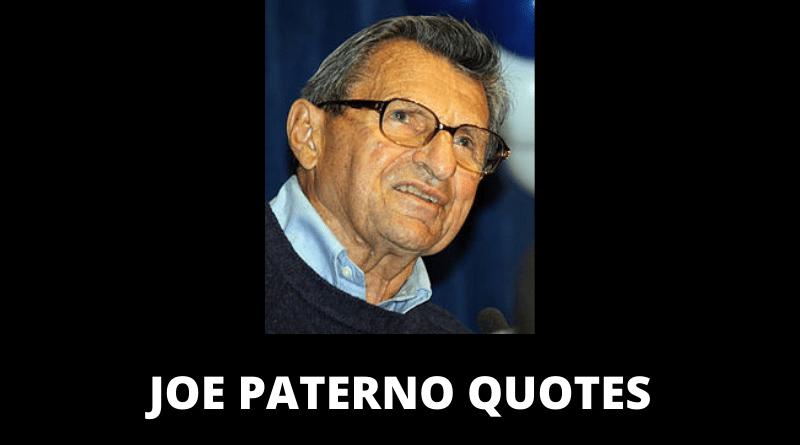Joe Paterno quotes featured