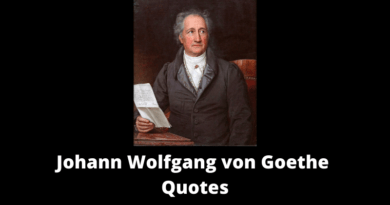 Johann Wolfgang von Goethe Quotes featured