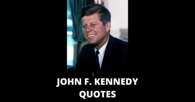 John F Kennedy Quotes featured