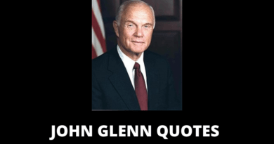 John Glenn quotes featured