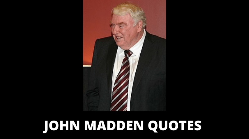 John Madden quotes featured