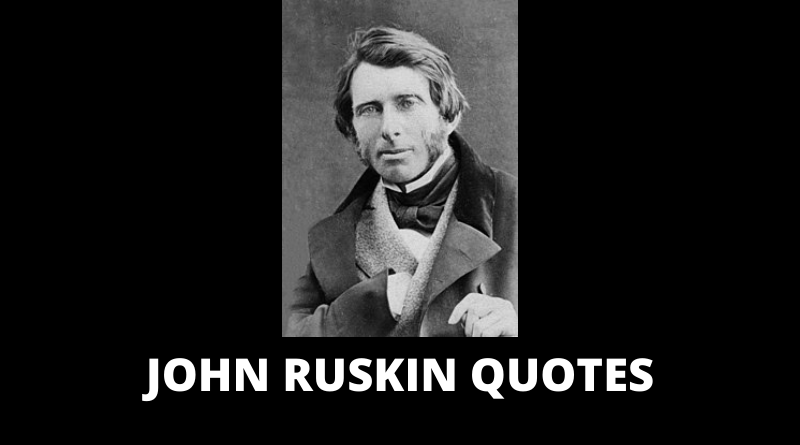 John Ruskin quotes featured