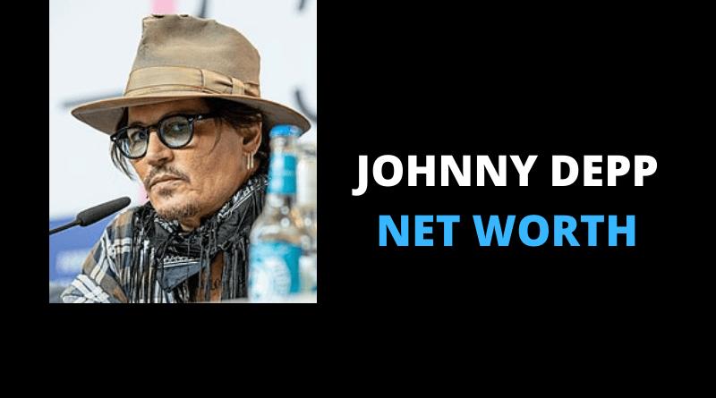 Johnny Depp net worth featured