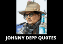 Johnny Depp quotes featured