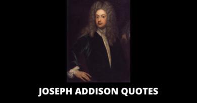 Joseph Addison Quotes featured