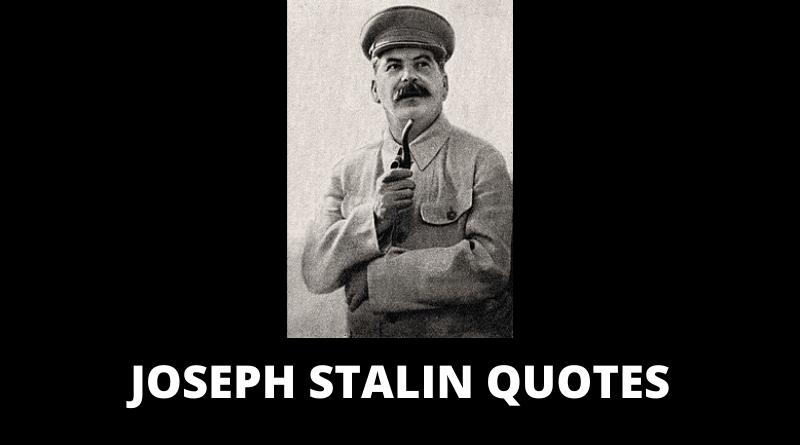 Joseph Stalin quotes featured