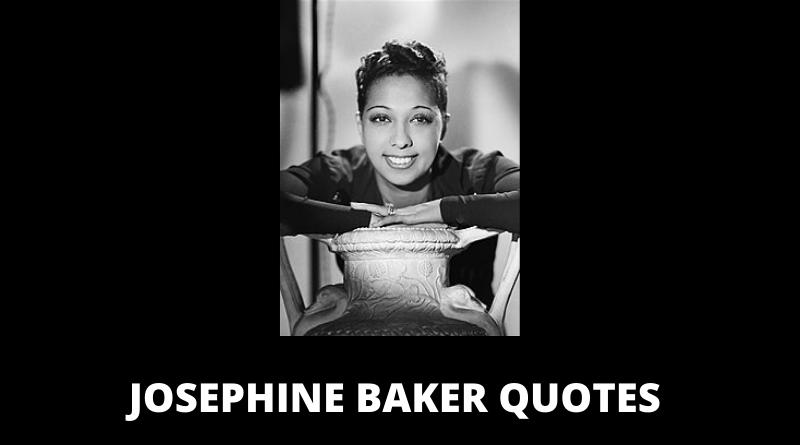 Josephine Baker Quotes featured
