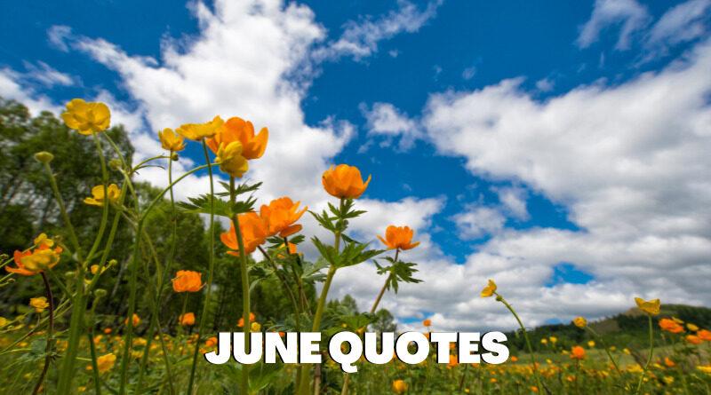 June Quotes Featured
