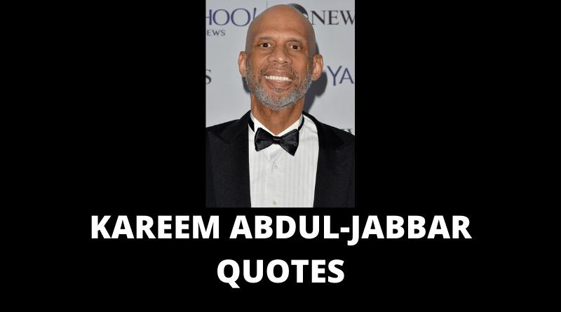 Kareem Abdul-Jabbar Quotes featured
