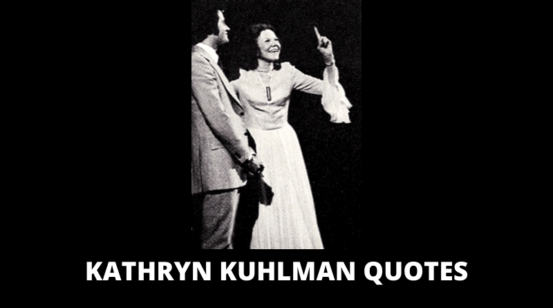 Kathryn Kuhlman Quotes featured