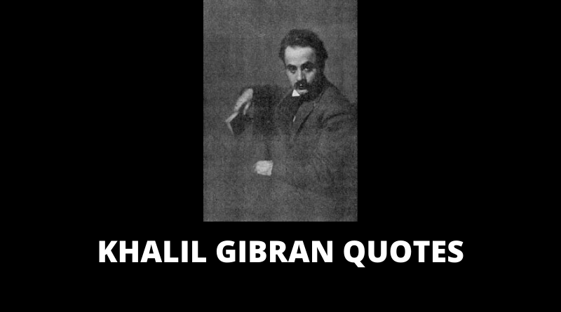 Khalil Gibran Quotes featured