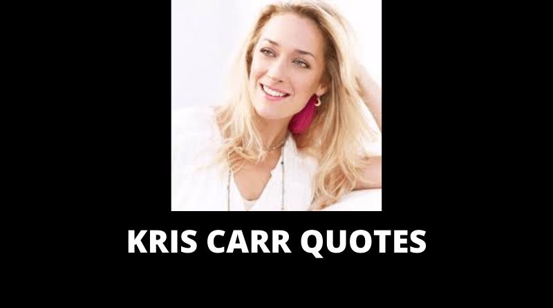 Kris Carr Quotes featured