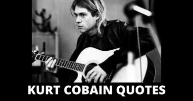 Motivational Kurt Cobain Quotes