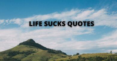 Life Sucks Quotes featured
