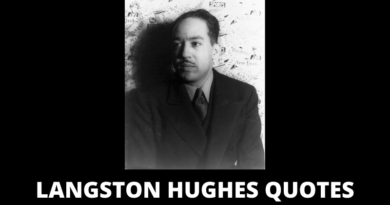 Langston Hughes Quotes featured