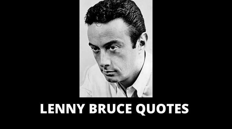 Lenny Bruce quotes featured